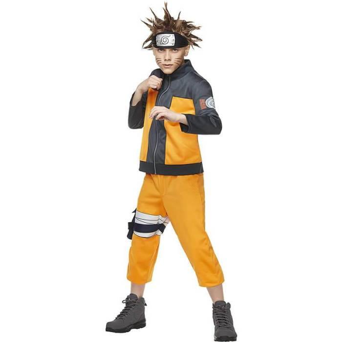 Kids Anime Naruto The Ultimate Ninja Awesome Cosplay Costume Outfit