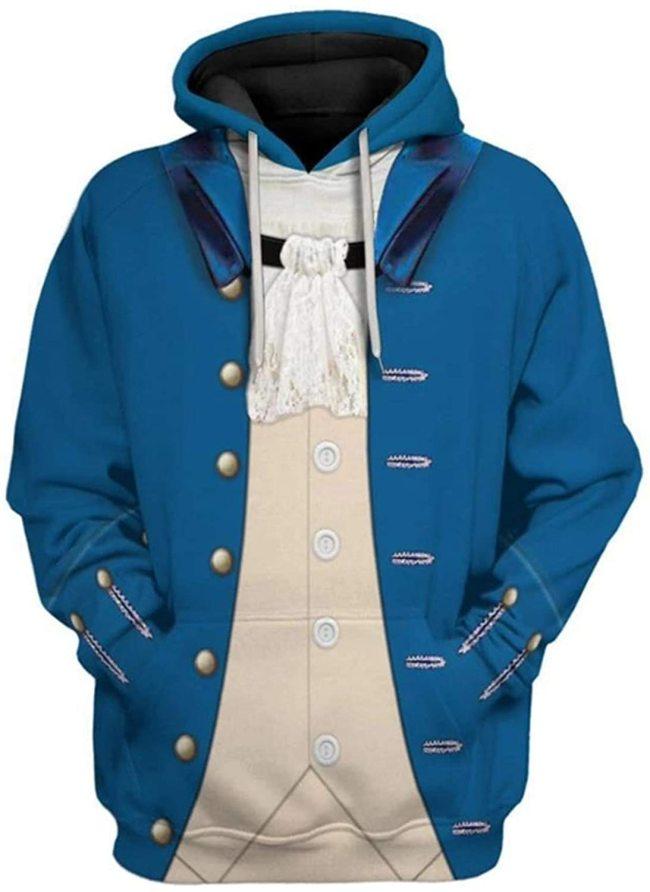 Paul Revere Historical Figure Unisex 3D Printed Hoodie Pullover Sweatshirt