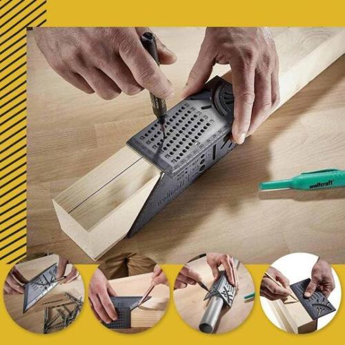 3D Multi-Angle Measuring Ruler