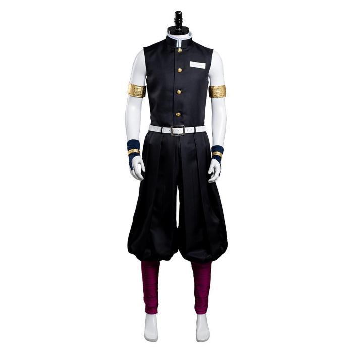 Demon Slayer Season 2 Uzui Tengen Outfits Halloween Carnival Suit Cosplay Costume