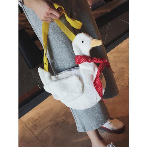 White Goose Crossbody Bag