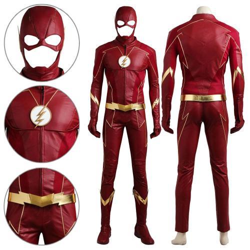 Barry Allen The Flash Season 4 Cosplay Costume