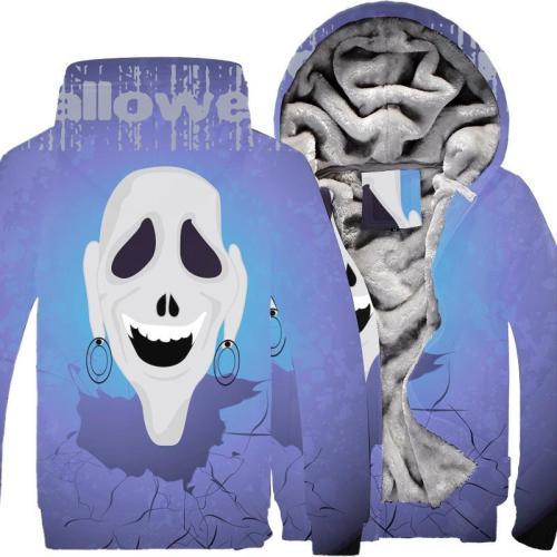 Winter Men'S Plush Thick Hooded Cotton Coat