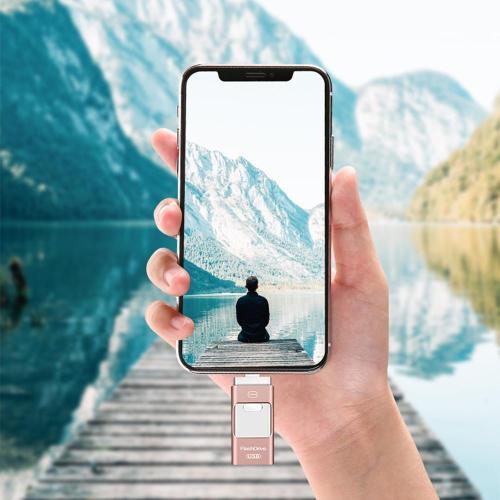 Iflash Portable Usb Flash Drive (Iphone, Ipad & Android)