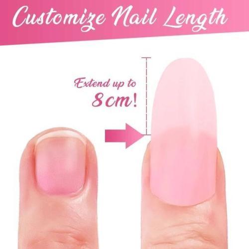 Nail Extension Silk Fiberglass