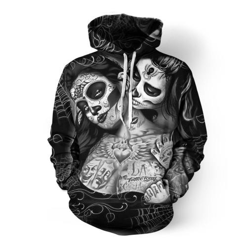 Day Of The Dead Girls 3D Hoodie