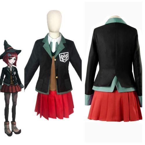 Danganronpa Yumeno Himiko Outfits Halloween Carnival Suit Cosplay Costume