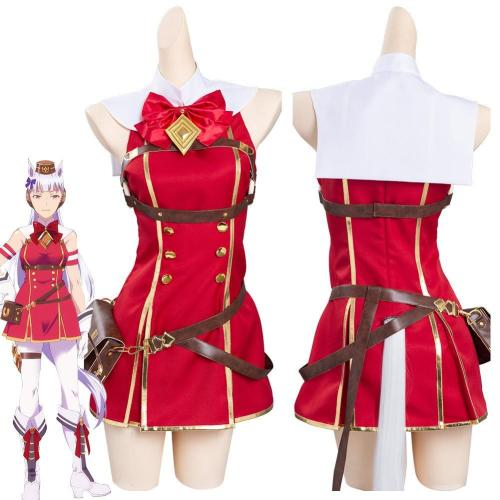 Pretty Derby Gold Ship Outfits Halloween Carnival Suit Cosplay Costume