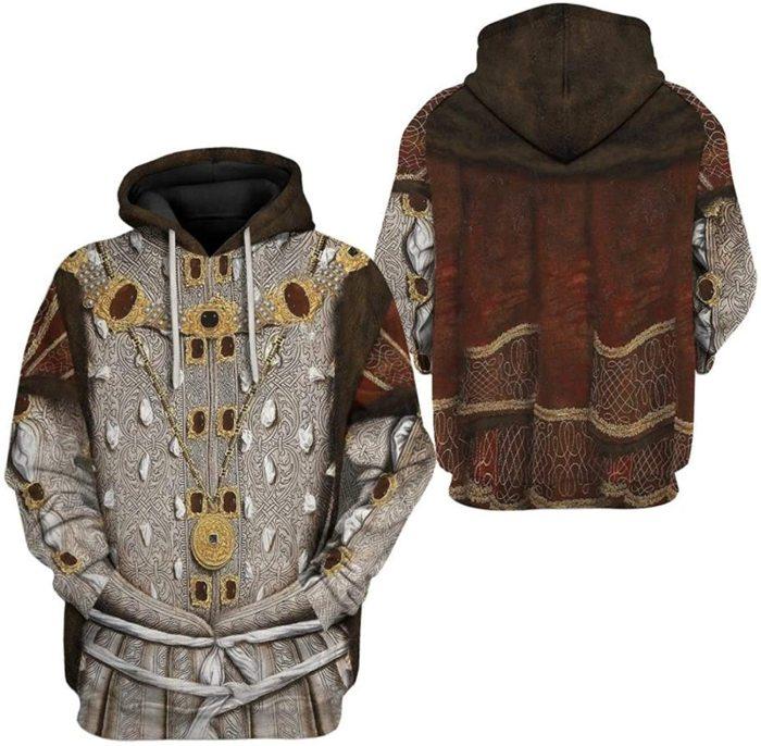 Henry Viii Historical Figure Unisex 3D Printed Hoodie Pullover Sweatshirt