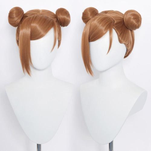 Jujutsu Kaisen Kugisaki Nobara Heat Resistant Synthetic Hair Carnival Halloween Party Props Cosplay Wig