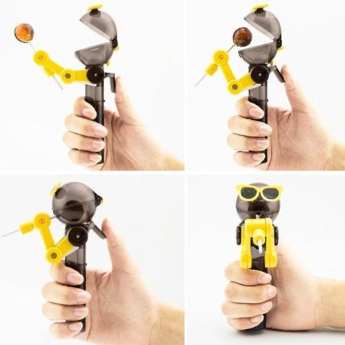 Robot Lollipop Holder