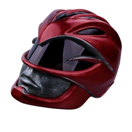 Power Rangers Mighty Morphin  Legacy Red Ranger Cosplay Helmet