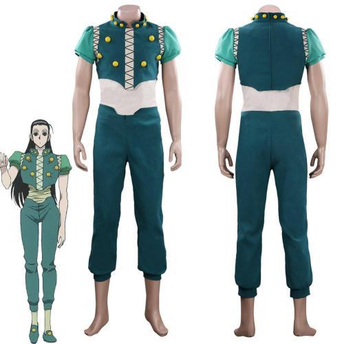 Hunter×Hunter Illumi Zoldyck Outfits Halloween Carnival Suit Cosplay Costume