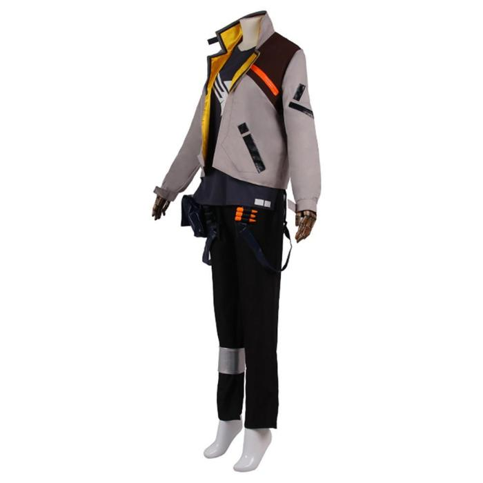 Valorant Phoenix Outfit Halloween Carnival Suit Cosplay Costume
