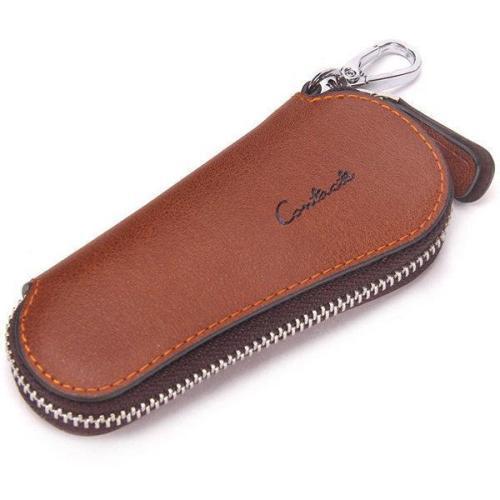 Men Genuine Leather Vintage Outdoor Casual Key Bag