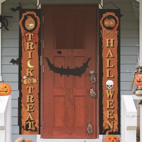 Halloween Couplet Ghost Festival Outdoor Decoration Door Couplet