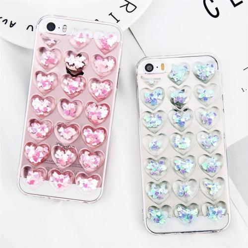 Bubbly Heart Phone Cases