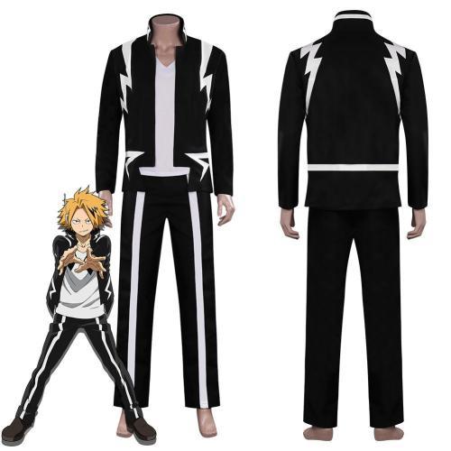 My Hero Academia Kaminari Denki Halloween Carnival Suit Cosplay Costume