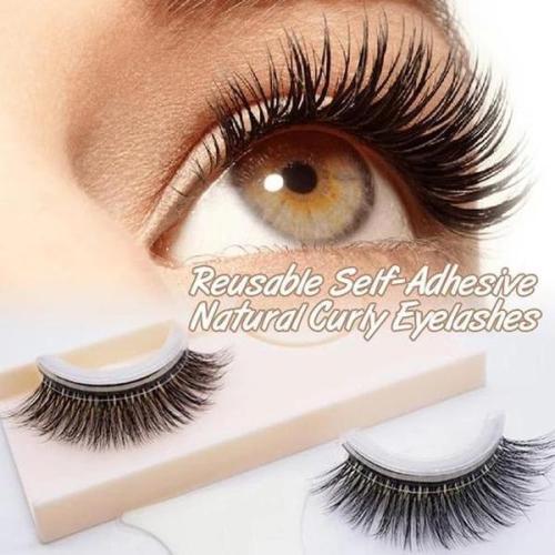 Reusable Self-Adhesive Eyelashes