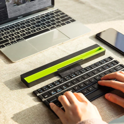Foldable Wireless Bluetooth Keyboard