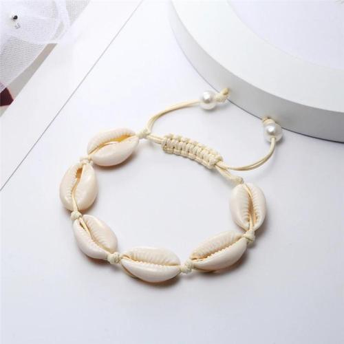 Adjustable Beach Sea Shell Anklet Bracelets