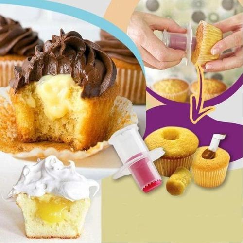 Filled Cupcake Corer Plunger Cutter