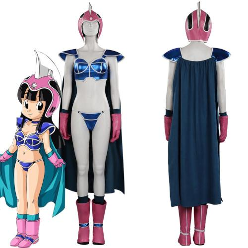 Dragon Ball Z Chichi Outfits Halloween Carnival Suit Cosplay Costume