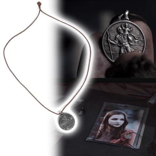 Cosplay Tv Dark Season 1 2 3 St Christopher Pendant Necklace Jonas Accessories Metal Men Women Accessories