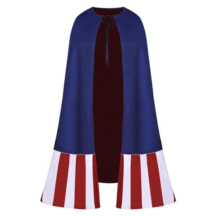 What If Captain America Halloween One Piece Cosplay Costume