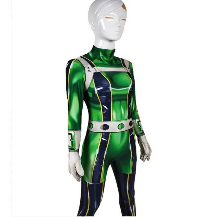 My Hero Academia Froppy Tsuyu Asui Cosplay Costume Zentai Bodysuit