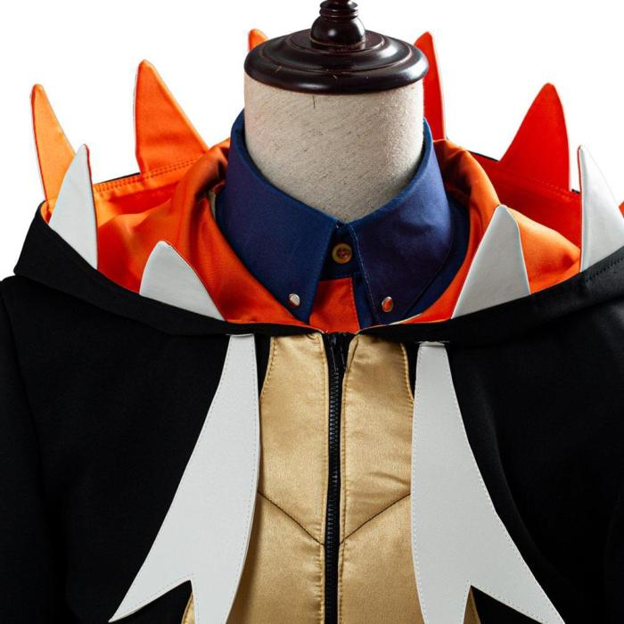 Pokémon Sword And Shield Raihan Outfit Cosplay Costume