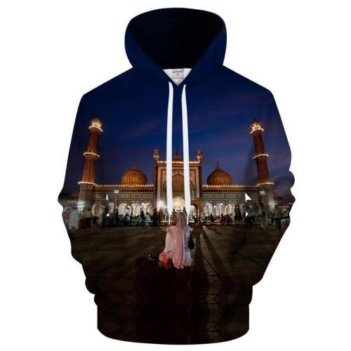 Ramadan Mecca 3D Sweatshirt Hoodie Pullover