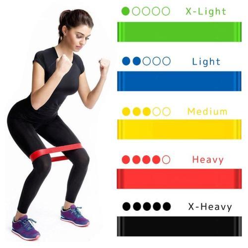 Fitness Gum Pilates Sport Crossfit Workout Equipment