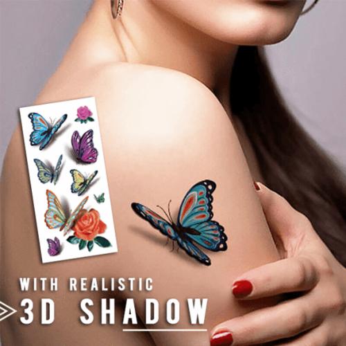 Waterproof Temporary 3D Tattoo Stickers