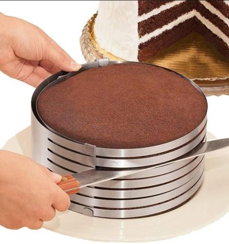 Adjustable Stainless Steel Cake Slicer