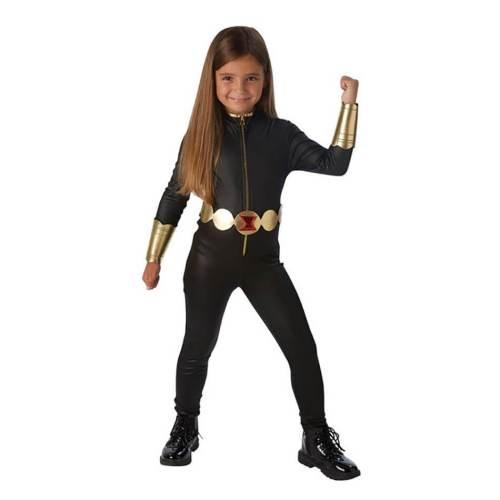 Kids Black Widow  Bodysuit Jumpsuit Halloween Cosplay Costume