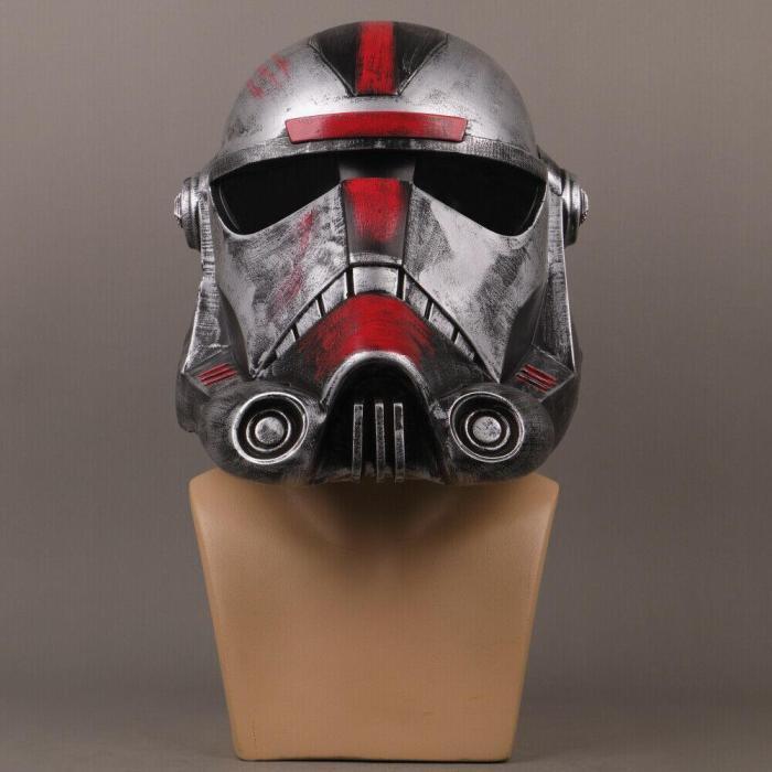 Star Wars Helmet The Bad Batch Hunter Pvc Helmet Halloween Cosplay Adult Masquerade Props