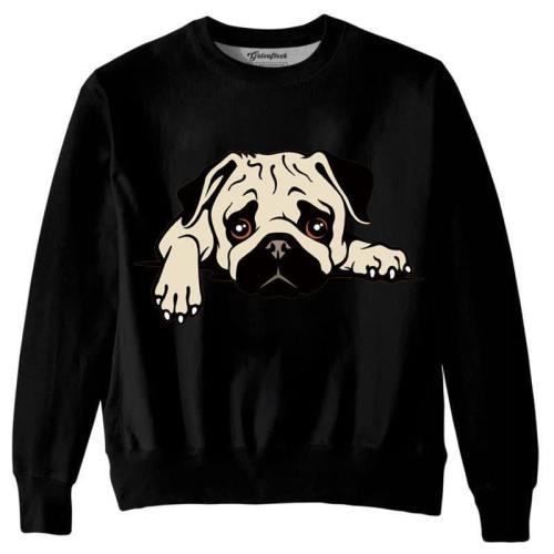 Men'S 3D Print Hoodies Dog Fashion Casual Streetwear