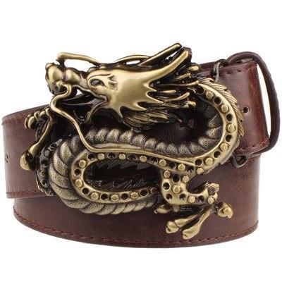 Dragonite Leather Belt