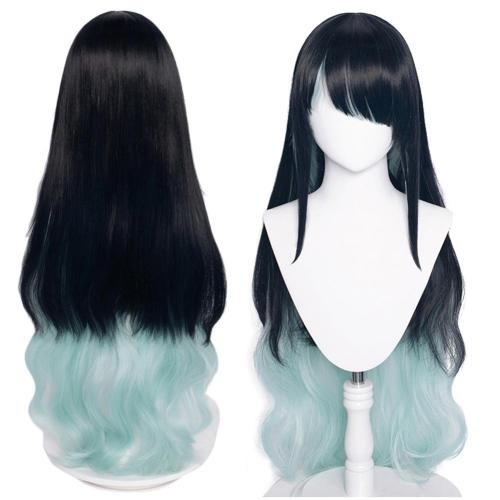 Arknights Dusk Heat Resistant Synthetic Hair Carnival Halloween Party Props Cosplay Wig