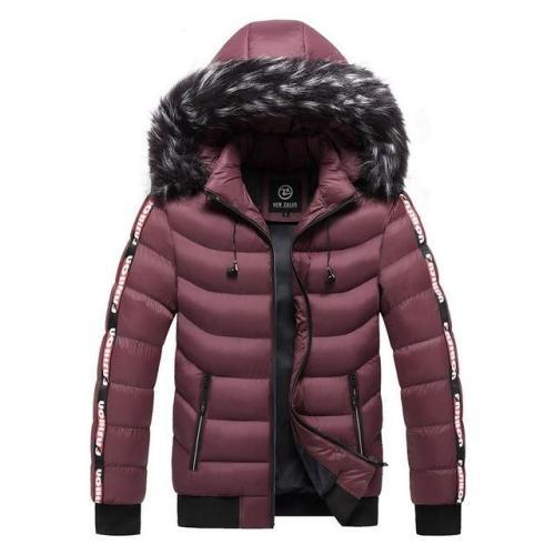 Men'S Parka Thicken Warm Jackets Windbreak Outwear