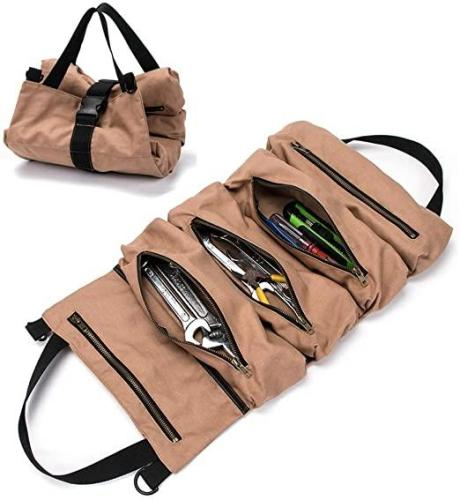 Multi-Purpose Tool Roll Up Bag Wrench Roll Pouch