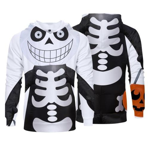 Halloween Horror Character Face Fashion Hoodies