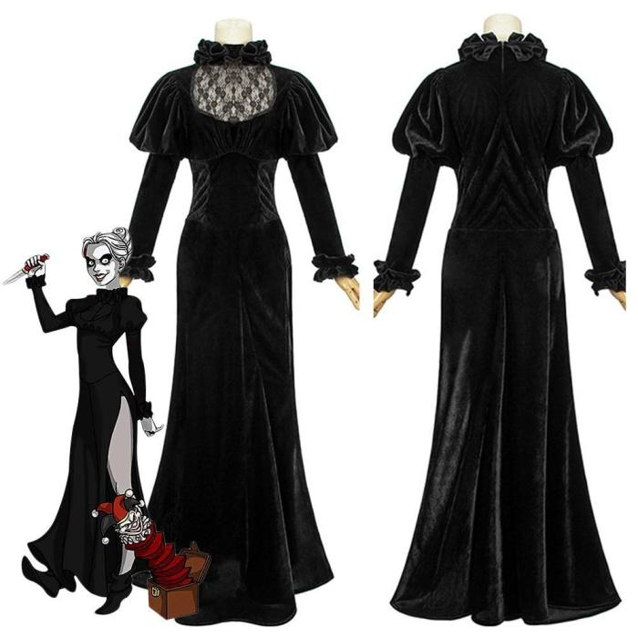 Dead Silence Mary Shaw Outfits Halloween Carnival Suit Cosplay Costume