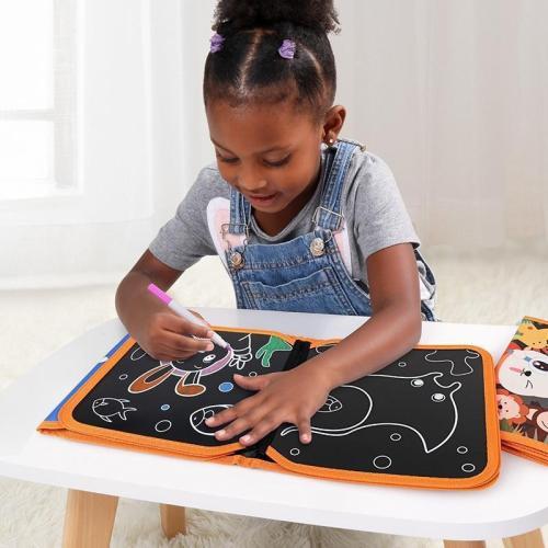 Soft Blackboard Children'S Coloring Book