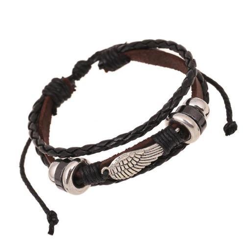 Traveller Leather Bracelet