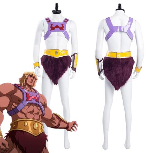 Masters Of The Universe: Revelation He-Man Halloween Carnival Suit Cosplay Costume
