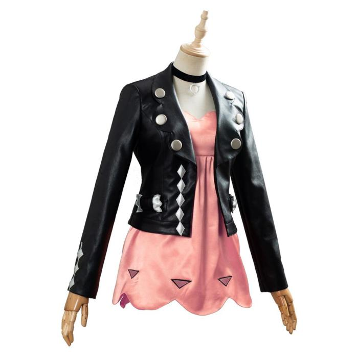 Pokemon Sword/Shield Marnie Outfit Cosplay Costume