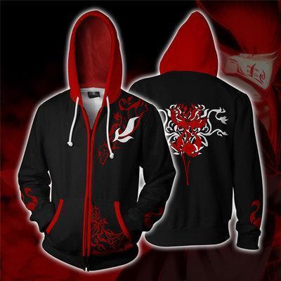 Rwby Anime Adam Taurus Wilt Blush Cosplay Unisex 3D Printed Hoodie Sweatshirt Jacket With Zipper