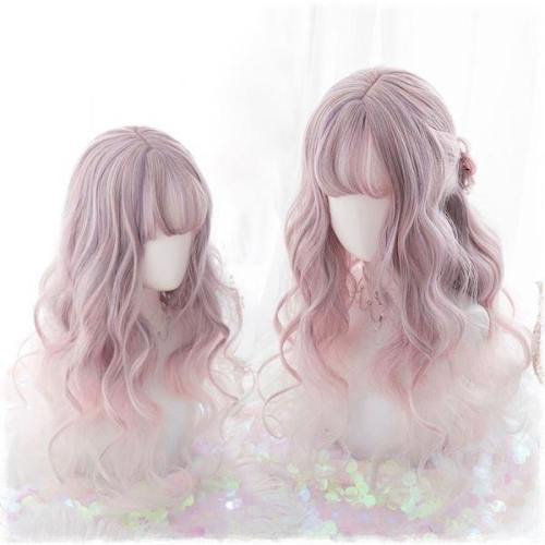 Pink Ethereal Wavy Wig
